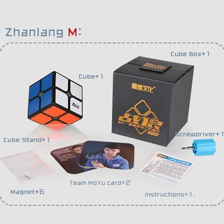 Rubik 2×2 MoYu SenHuan ZhangLang Stickerless không viền