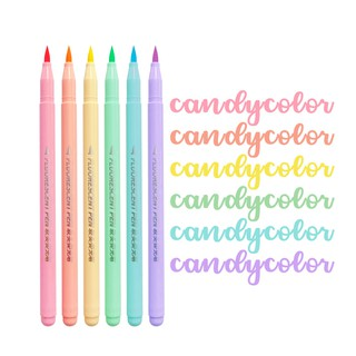Hình ảnh Set 6 bút đánh dấu Winzige màu sắc ngọt ngào-0