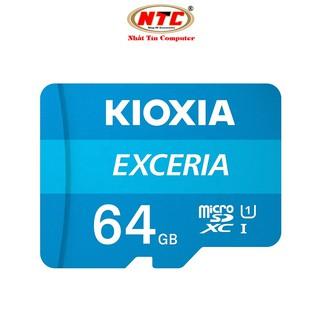 Thẻ nhớ MicroSDXC Kioxia Exceria 64GB UHS-I U1 100MB/s (Xanh) - Formerly Toshiba Memory