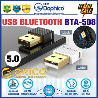 USB Bluetooth 5.0 Orico BTA-508 – Chính Hãng Orico – Hỗ trợ máy tính kết nối Bluetooth với các thiết bị khác