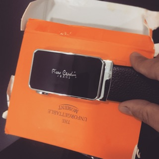 Thắt lưng Pierre Cardin luxury chính hãng malaysia