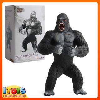 Mô hình giáo dục 19cm con Khỉ hoang dã, mô hình đười ươi, đồ chơi trẻ em ITOYS