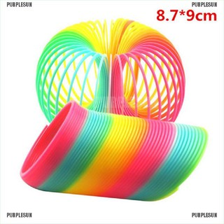 PURPLESUN 8.7*9cm JUMBO Rainbow Magic Spring Substantial Tough Color Complete