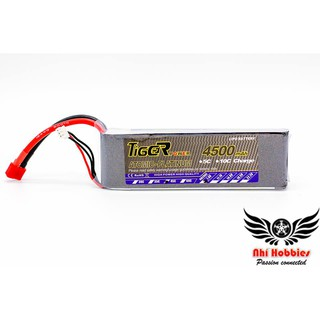 Pin Tiger 7.4v 4500mah 45C