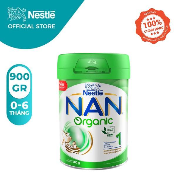 Sữa Bột Nestle NAN ORGANIC Số 1 – Hộp 900gr