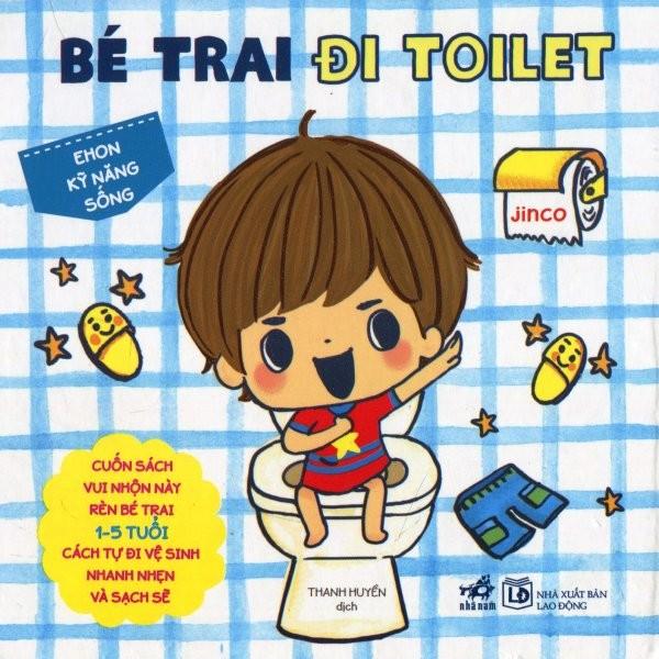 Sách - Ehon Kỹ Năng Sống - Bé Trai Đi Toilet