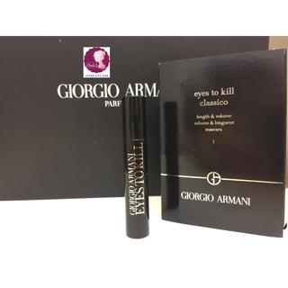 Chuốt mi Giorgio Armani Eyes To kill Mascara màu đen 2ml thumbnail