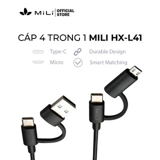 Cáp 4in1 MiLi - HX-L41