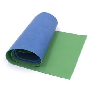 (Dankung – Size tự chọn) Cuộn 1m thun Dankung 2 lớp size tự chọn (Màu xanh biển)