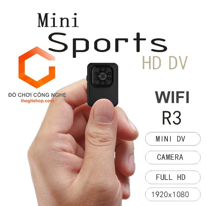 Camera thể thao siêu nhỏ R3 WiFi - Full HD 1080P - 8 đènLed quay đêm - 2972050 , 750034045 , 322_750034045 , 549000 , Camera-the-thao-sieu-nho-R3-WiFi-Full-HD-1080P-8-denLed-quay-dem-322_750034045 , shopee.vn , Camera thể thao siêu nhỏ R3 WiFi - Full HD 1080P - 8 đènLed quay đêm