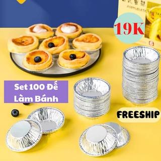 Set 100 Đế Làm Bánh , Đế Làm Bánh Trứng Tại Nhà Siêu Tiện Lợi KHO GIA DỤNG HOÀNG ANH thumbnail