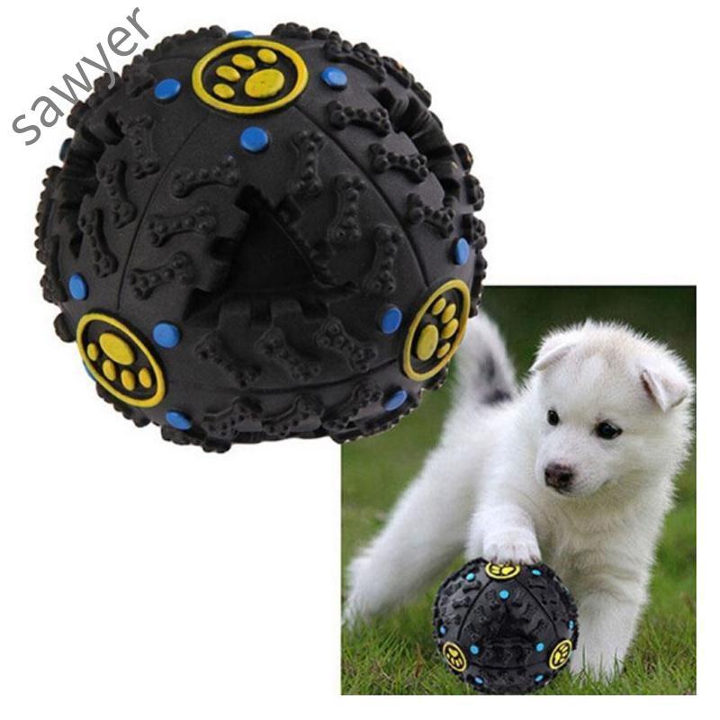 Pet Supplies Treat Chew Toys & Games Elasticity Training Toy Plastic Balls Tennis Ball