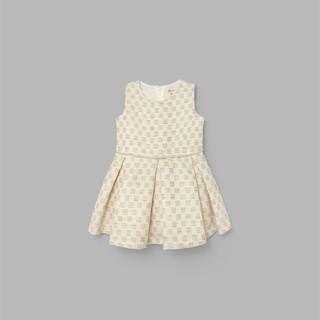 Đầm váy xòe xếp ly BAA BABY caro cho bé gái màu trắng xinh xắn - G-AD06C-005CA thumbnail