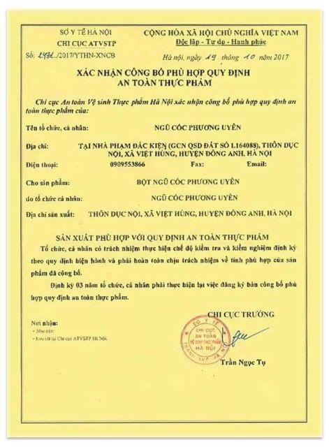 Bột Ngũ cốc handmade giảm cân Phương Uyên 1kg