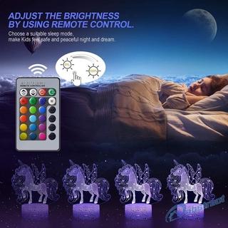 Đèn Ngủ Cảm Ứng Điều Khiển Từ Xa Hình Con Ngựa Độc Đáo