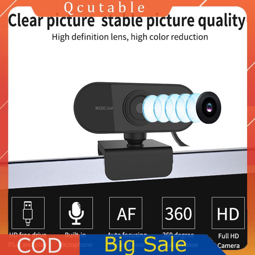 Webcam 2mp 1080p Cmos Usb 2.0 Cho Máy Tính