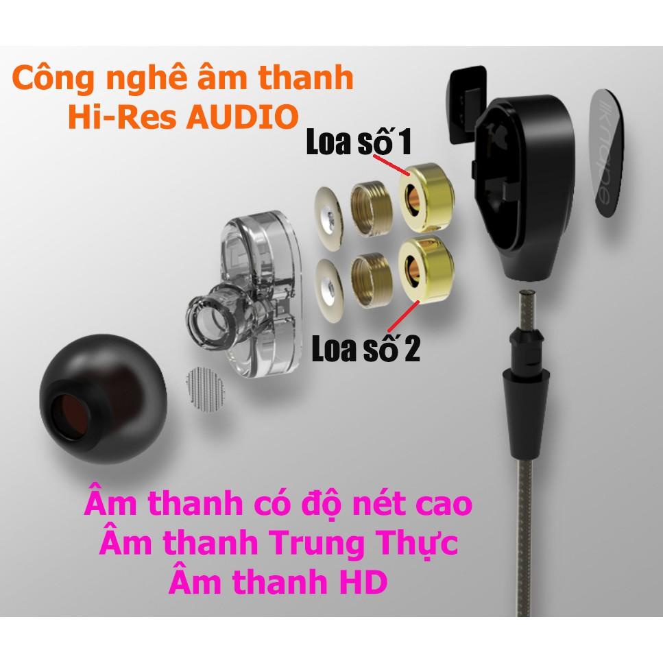 Tai nghe Loa kép Hi-Res AUDIO bass cực mạnh S600