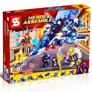Bộ Lego Xếp Hình Ninjago Super Heroes – Biệt Đội Siêu Anh Hùng. Gồm 685 Chi Tiết. Lego Ninjago Lắp Ráp Đồ Chơi Cho Bé.