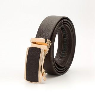 [SALE 50%] Thắt lưng da bò 4U đầu vàng sang trọng T190 (đen – nâu) – shopee.vn/thatlungnamcaocap
