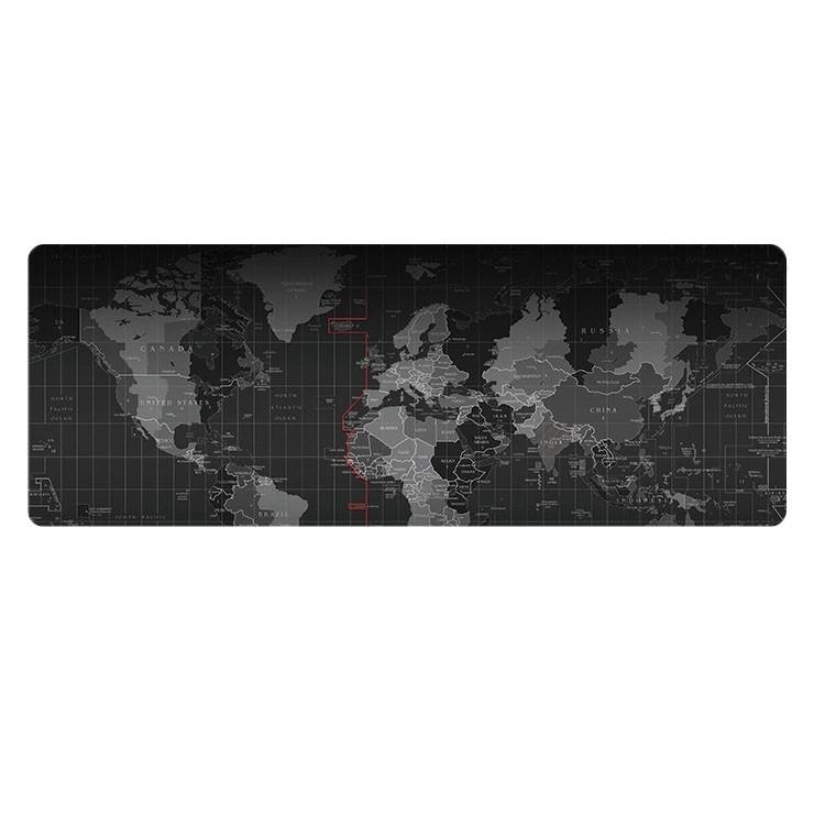 Lót chuột bản đồ 80x30 siêu dày 4ly