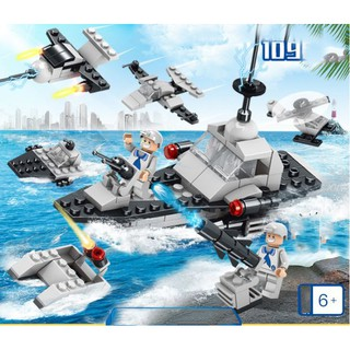 Lego xếp hình Navy Special Force