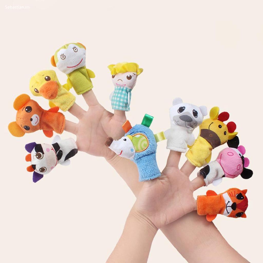 Se Cartoon Animal Puppet Puppet Giáo dục Búp bê Đồ chơi