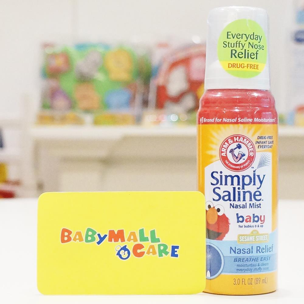 Xịt mũi diệt khuẩn Simply Saline
