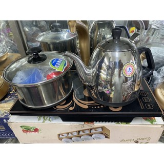 bộ bếp điện KAMJOVE BPT17 ( bàn trà đào hàng chính hãng đẹp nét rẻ có bảo hành)