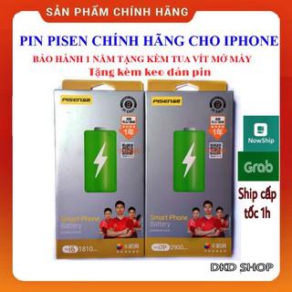 PIN PISEN IPHONE 5s/6/6s/6pl/6spl/7/7pl/8/8pl/X/Xs/Xr/Xsmax + Bộ Vít tháo lắp