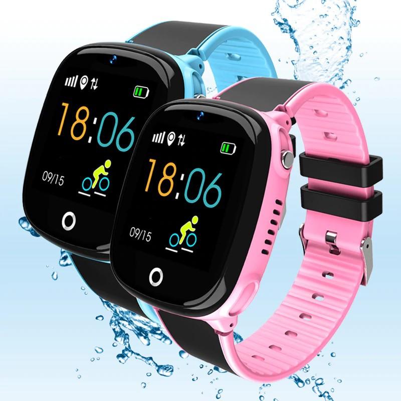 Đồng hồ thông minh trẻ em HW11, Định vị GPS chống nước, Bảo hành 1 đổi 1