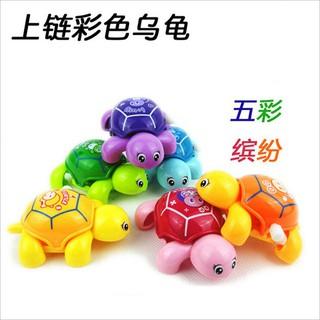 Animal Clockwork Tortoise Baby Turtles Toys Infant Crawling Wind Up Toy,