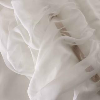 [NHIỀU MÀU] Vải voan tơ/ tơ óng trắng khổ 1m5 may váy, làm rèm, phông nền background sinh nhật