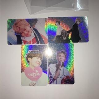 Card hologram BTS