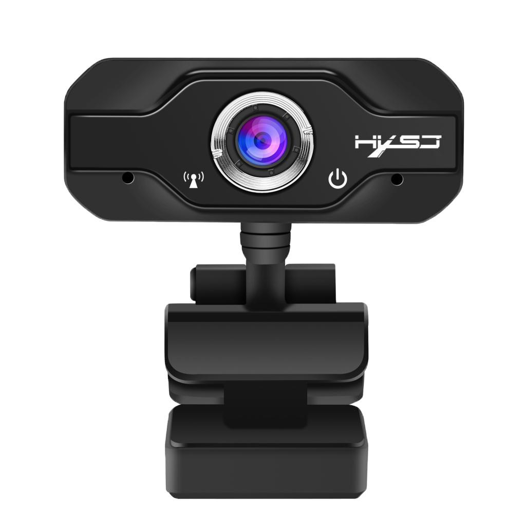 Bộ Webcam độ phân giải FHD 1080P tích hợp micro có kẹp gắn máy tính bàn tiện dụng kèm phụ kiện