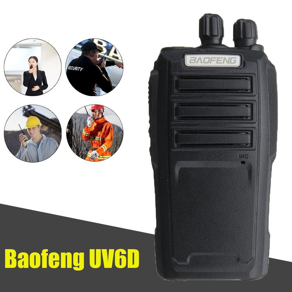 Promotion New BaoFeng Walkie Talkie UV-6 36-174/400-480MHZ 2-Way Ham Radio 128CH Long Range Best