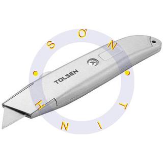 Dao rọc giấy cán nhôm Tolsen 30008