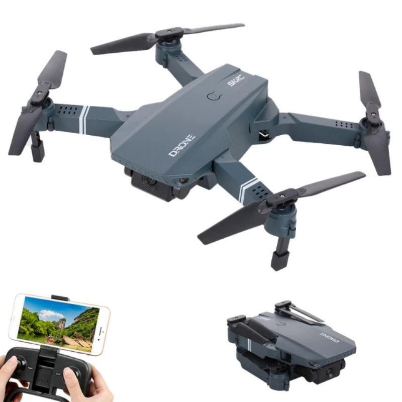 Máy bay điều khiển Flycam Drone S107 có Camera 4K HD FPV trực tiếp tự cân bằng