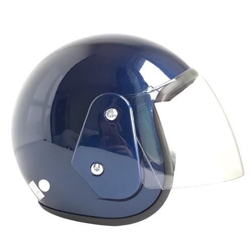 Mũ bảo hiểm trùm 3/4 đầu chính hãng - Bktec - BK19 - Kính dài trắng trong - Bảo hành 12 tháng - Vòng đầu 56-58cm