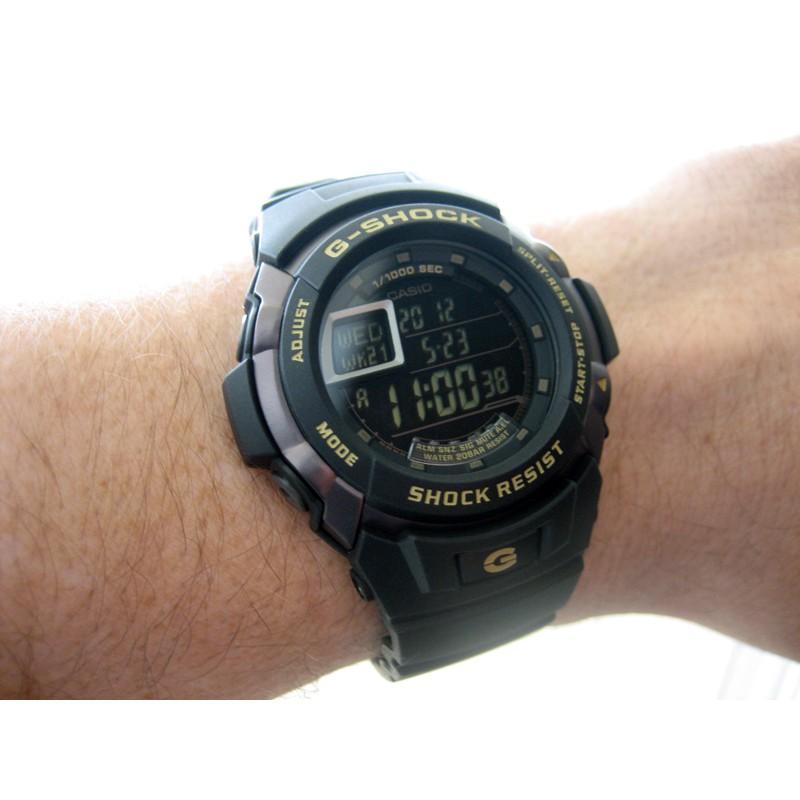 Đồng hồ nam dây nhựa G-SHOCK Casio chính hãng Anh Khuê G-7710-1DR