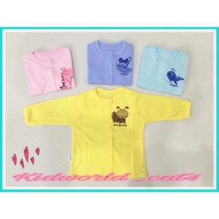 Set 3 chiếc - Áo dài tay Baby Leo cho bé sơ sinh