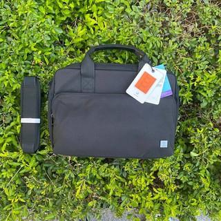[Cam kết chính hãng] Cặp, Túi đeo chống sốc WIWU Alpha Double Layer cho Macbook Laptop - 13 14 15 16 inch (Màu đen) thumbnail