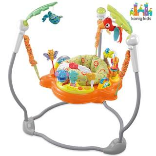 Jumperoo - Ghế nhún nhảy tập đứng dành cho trẻ em có đèn, nhạc và thanh đồ chơi Konig-Kids - 63569 thumbnail