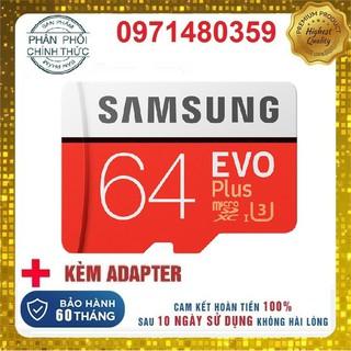 Thẻ nhớ 32GB/ 64GB SAMSUNG, YOOSEE Class 10 hỗ trợ quay video 4K chuyện dụng cho Camera IP wifi, Smartphone, loa đài.