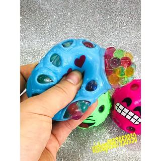 đồ chơi gudetama bóp trút giận mặt cảm xúc có hạt nở mã QWM58