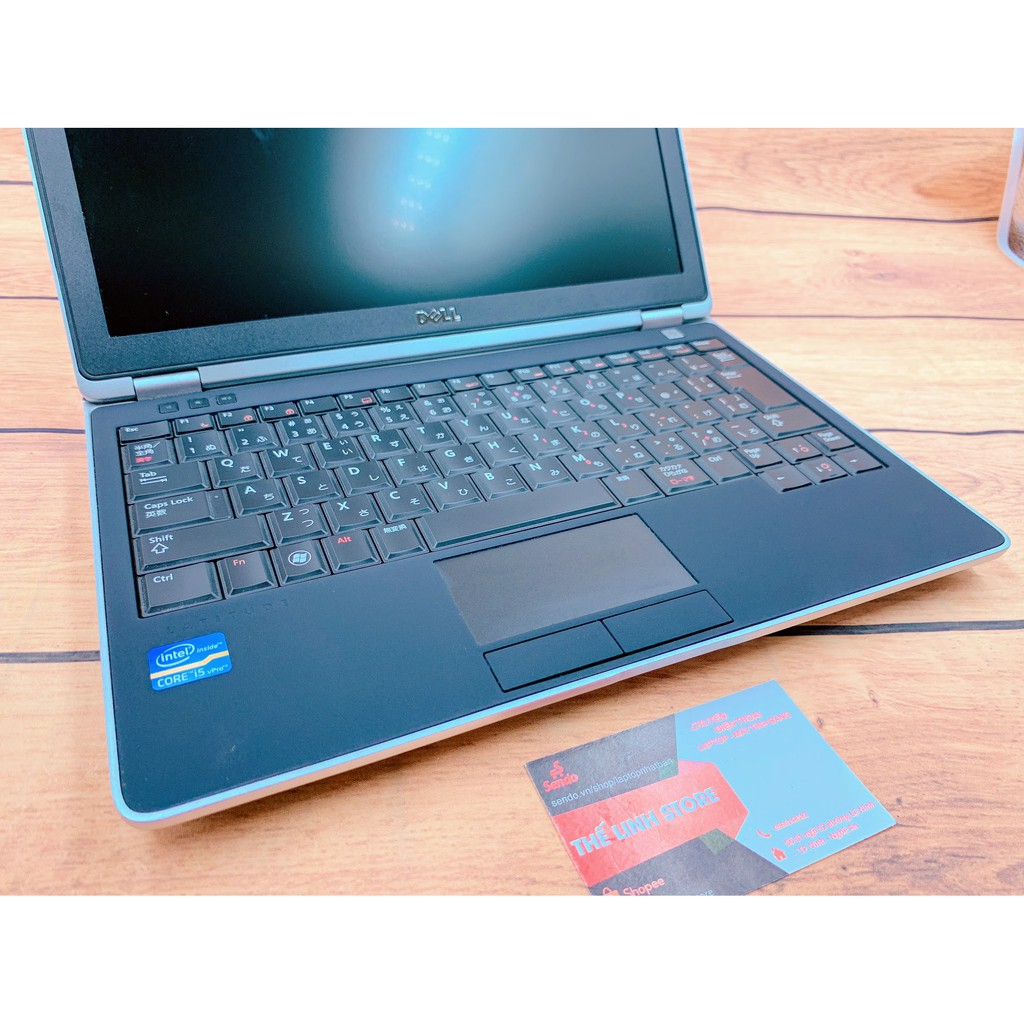 [Mã ELLAPDESK giảm 5% đơn 3TR] Laptop Dell Latitude E6220 12.5 inch - Core i5 i7 đời 2