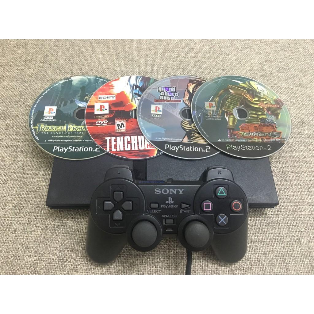 Máy game PS2 đời cao nhất (Bỏ đĩa là chơi)