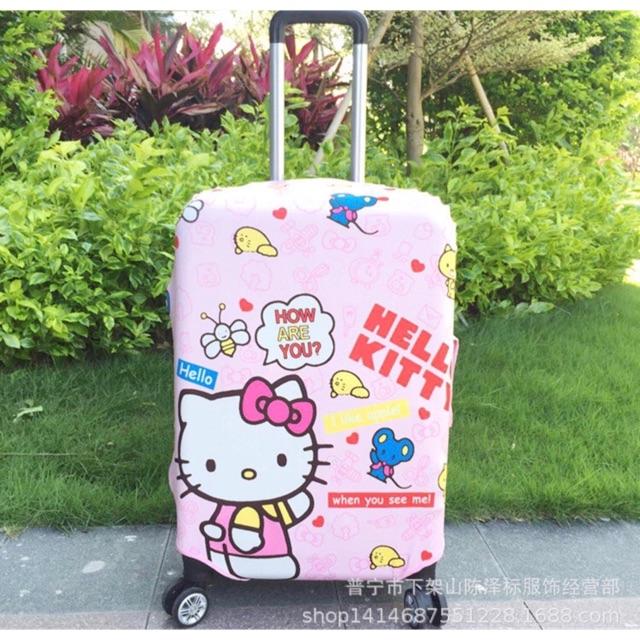 Tấm bảo vệ valy Hello Kitty