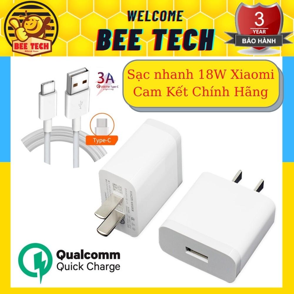 Bộ sạc nhanh 18w chính hãng Beetech cho nhiều loại điện thoại