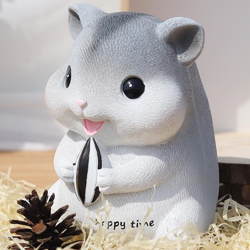 Ống Heo Tiết Kiệm Hình Chuột Hamster