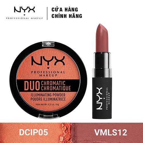 Bộ đôi Son môi & Phấn Bắt Sáng NYX Professional Makeup (VMLS12 + DCIP05) _ TUNX00027CB - 3500982 , 1307090407 , 322_1307090407 , 480000 , Bo-doi-Son-moi-Phan-Bat-Sang-NYX-Professional-Makeup-VMLS12-DCIP05-_-TUNX00027CB-322_1307090407 , shopee.vn , Bộ đôi Son môi & Phấn Bắt Sáng NYX Professional Makeup (VMLS12 + DCIP05) _ TUNX00027CB